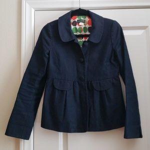 J. Crew navy blazer